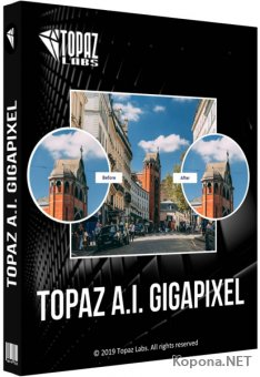 Topaz A.I. Gigapixel 4.1.0 Portable