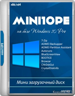 mini10PE by niknikto v.19.6 (x86/x64/RUS)