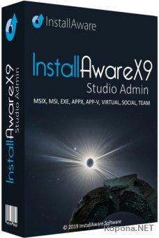 InstallAware X9 Studio Admin Build 5.19.2019