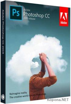 Adobe Photoshop CC 2019 20.0.5.27259 RePack by Pooshock