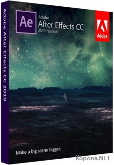 Adobe After Effects CC 2019 16.1.2.55RePack by Pooshock