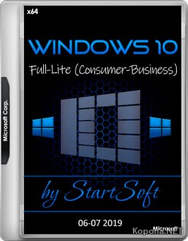 Windows 10 Release by StartSoft 06-07 2019 (x64/RUS)