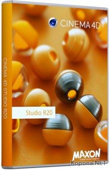 Maxon CINEMA 4D Studio R20.059 RePack by Pooshock