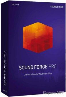 MAGIX SOUND FORGE Pro 13.0 Build 95 RePack