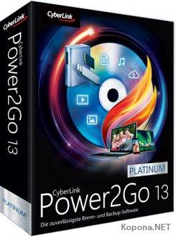 CyberLink Power2Go Platinum 13.0.0523.0 + Rus