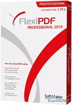 SoftMaker FlexiPDF 2019 Professional 2.0.4 Portable