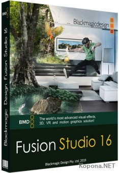 Blackmagic Design Fusion Studio 16.0 Build 49