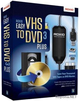 Roxio Easy VHS to DVD 3 Plus 3.0.1.36