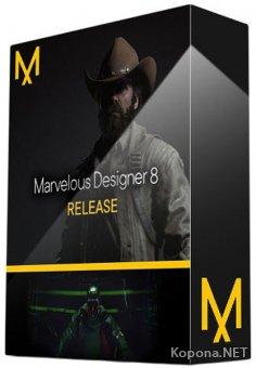 Marvelous Designer 8 Personal 4.2.301.41750