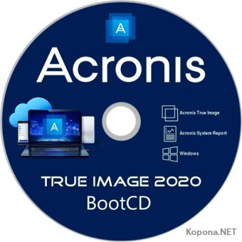 Acronis True Image 2020 Build 20600 BootCD
