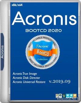 Acronis BootCD 2020 by zz999 2019.09 (x86/x64/RUS)