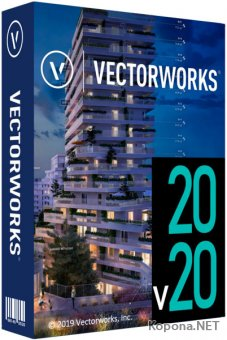 Vectorworks 2020 SP0 Build 508509