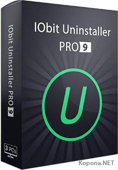 IObit Uninstaller Pro 9.1.0.8 + Portable