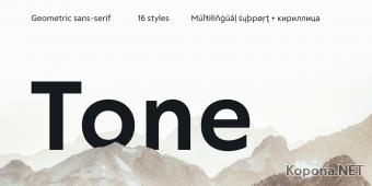 Шрифт RF Tone
