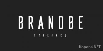 Шрифт Brandbe