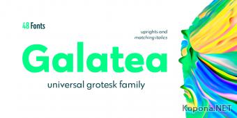Шрифт Galatea