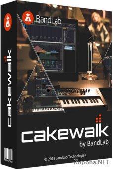 BandLab Cakewalk 2019.09 Build 70+ Studio Instruments Suite