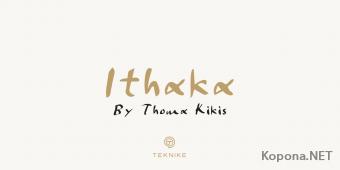 Шрифт Ithaka
