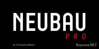 Шрифт Neubau Pro
