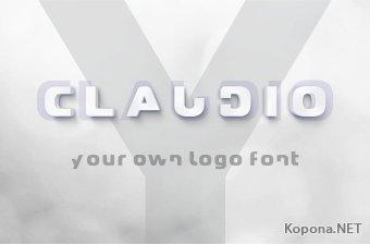 Шрифт Claudio