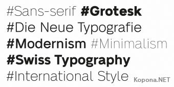 Шрифт Neue Alte Grotesk