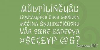 Шрифт Arkaim