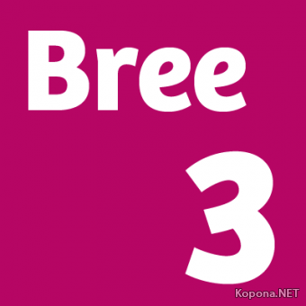 Шрифт Bree