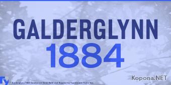 Шрифт Galderglynn 1884