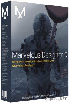 Marvelous Designer 9 Enterprise 5.1.311.44087 Portable by Deodatto