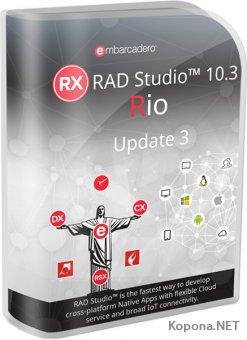 Embarcadero RAD Studio 10.3.3 Rio Architect Version 26.0.36039.7899
