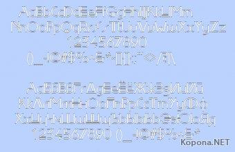 Шрифт EdgeLine