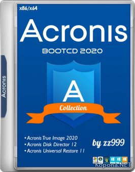 Acronis BootCD 2020 by zz999 2019.11.27 (x86/x64/RUS)