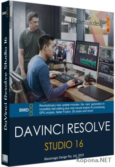 Blackmagic Design DaVinci Resolve Studio 16.1.2.026