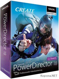 CyberLink PowerDirector 18.0.2405.0 Ultimate + Rus