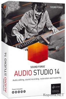 MAGIX SOUND FORGE Audio Studio 14.0.56 Portable