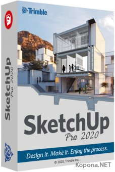 SketchUp Pro 2020 20.0.363 RePack by KpoJIuK