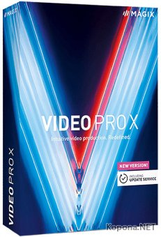 MAGIX Video Pro X11 17.0.3.68 RePack by Pooshock