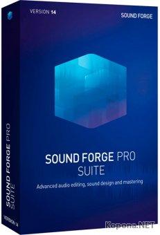 MAGIX Sound Forge Pro Suite 14.0 Build 31 + Rus