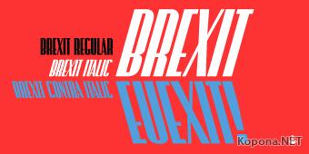 Шрифт Brexit