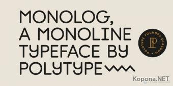 Шрифт Monolog