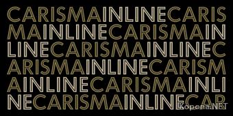 Шрифт Carisma