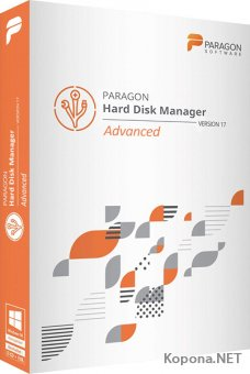 Paragon Hard Disk Manager 17 Advanced 17.13.1 + WinPE