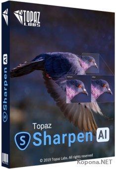 Topaz Sharpen AI 2.0.2