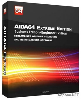 AIDA64 Extreme / Engineer / Business / Network Audit 6.25.5400 Stable + RePack & Portable by KpoJIuK