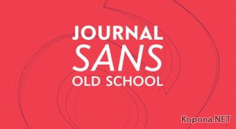 Шрифт Journal Sans Old School